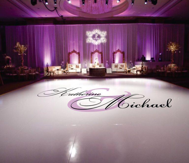 GTA wedding Dance Floor Wraps