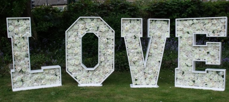 flower marquee love letters toronto
